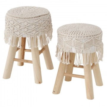 Stool Cleve, 2 culo., H 42,00